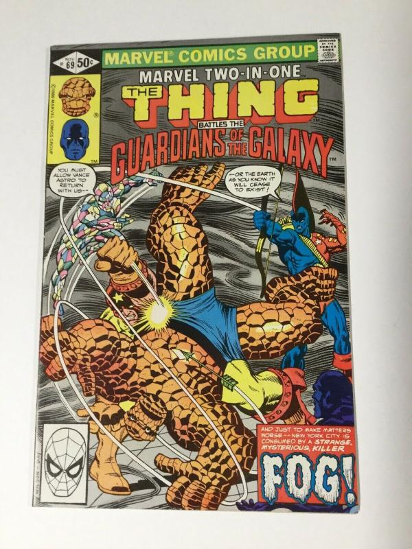 Marvel Two-in-one 69 Nm Near Mint