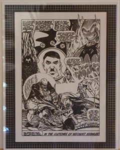 DOCTOR STRANGE original trans. art, HITLER, DORMAMMU, and Viscount Krowler, Nazi