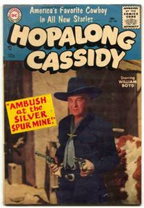 Hopalong Cassidy #108 1955-DC Western -William Boyd-VG