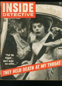 INSIDE DETECTIVE SEPT 1957-TERRORS TARGET-TRUE CRIME-MURDER FR