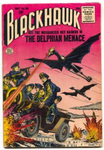 Blackhawk Comics #100 1956-DELPHAIN MENACE- FN+
