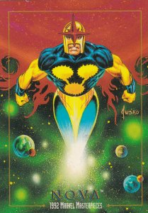 1992 SKYBOX MARVEL MASTERPIECE NOVA CARD #68