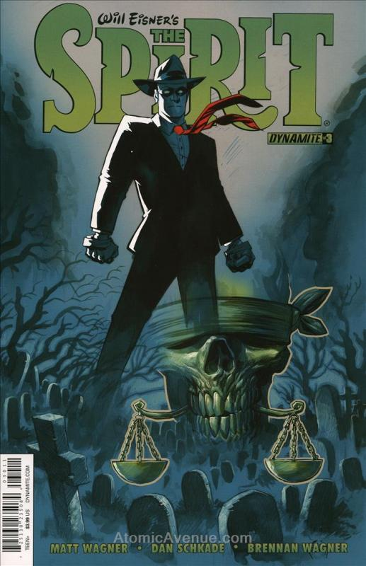 Spirit, The (11th Series) #3A VF/NM; Dynamite | save on shipping - details insid