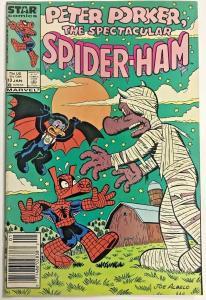 PETER PORKER, SPIDER-HAM#13 VG/FN 1987 (NEWSTAND) MARVEL  COMICS