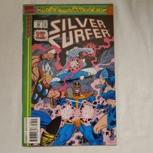 Silver Surfer 88 Near Mint- Art by Ron Frenz