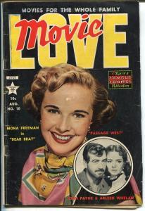 Movie Love #10 1954-Mona Freeman-John Payne-Bob Hope-Frank Frazetta-VG-