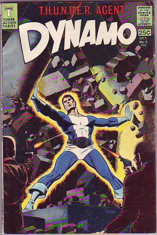 Dynamo #2 (Oct-66) VF/VF- High-Grade Dynamo,Weed