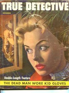 True Detective Magazine November 1953- DL Champion- Crime