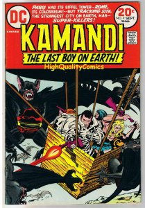 KAMANDI #9, VF, Jack Kirby, Last Boy on Earth, 1972, VFN, more in store