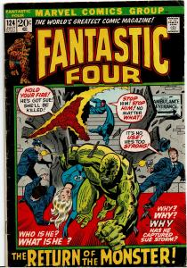 Fantastic Four #124, 3.0 or Better