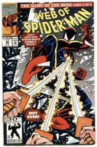 Web Of Spider-man #85 1992-Marvel comics- NM-