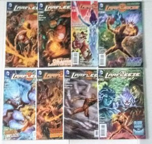 Larfleeze Comic Book Lot of (8) High Grade Copies  B-5/11