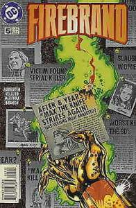 Firebrand #5 VF/NM; DC | save on shipping - details inside