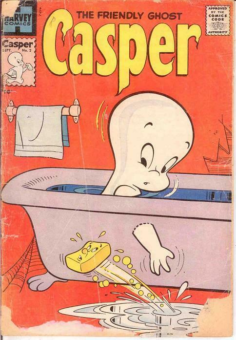 CASPER  (1958-    ) 2 FR  September 1958 COMICS BOOK
