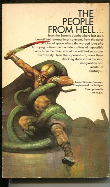 Wolfshead Paperback Book # 75-293 1969-Lancer-R E Howard-Frank Frazetta cover-FN