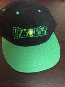 Green Lantern adjustable baseball hat