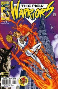 New Warriors (1999 series) #4, NM (Stock photo)