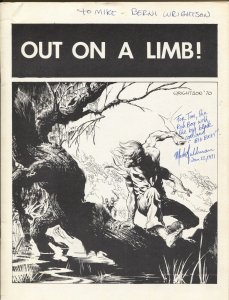 I'll Be Damned #4 1972-Berni Wrightson autographed-Gray Morrow-Tom Sutton-FN