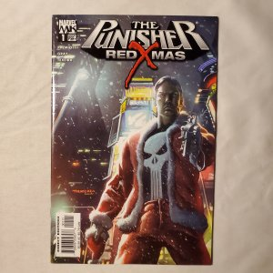 Punisher Red Xmas 1  Very Fine+ Cover by Mark Texeira