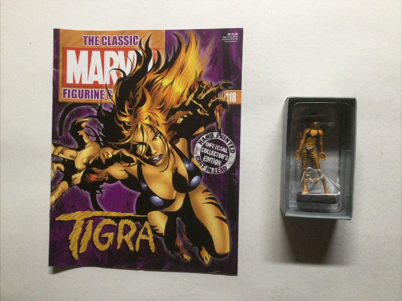 Tigra Marvel Figure Collection 118 Lead Magazine Eaglemoss