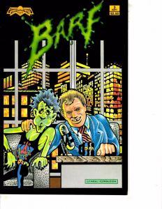 Lot Of 2 Comic Books Revolutionary Barf #3 and Eternity Argonauts #1  MS20