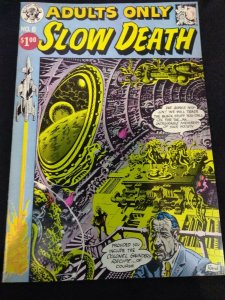 Slow Death #6 Last Gasp 1974 Political Horror Comic ADULTS ONLY