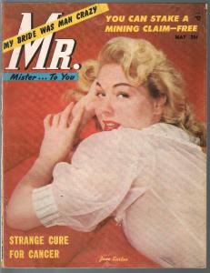 Mr. 5/1954-cheesecake pix-women being whipped-weird voodoo rites-VG/FN