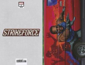 Strikeforce #1 Horn Van Variant (Marvel, 2019) NM