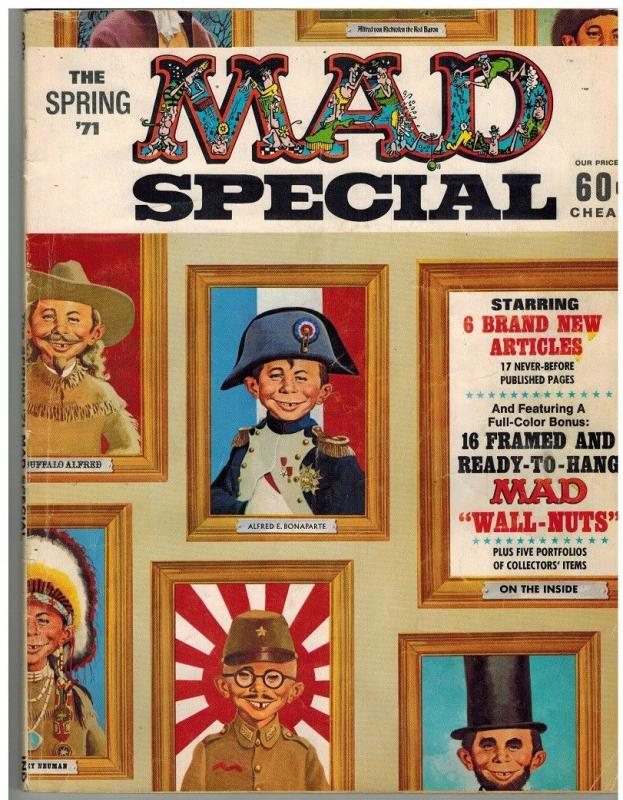 MAD SPECIAL (1970-    ) 2 (SPRING 1971) VG COMICS BOOK