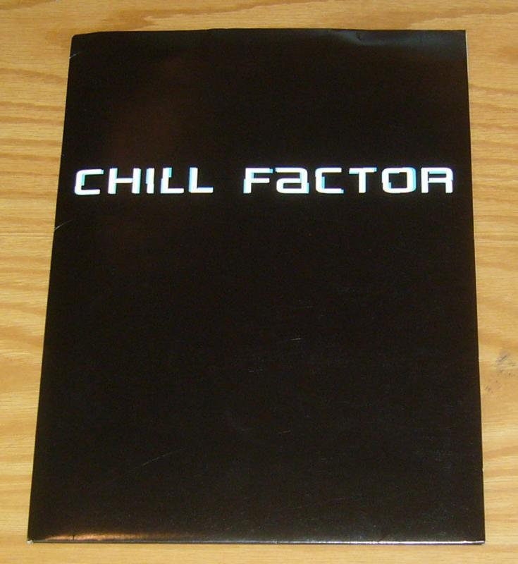 Chill Factor Press Kit - complete with B&W photo stills - cuba gooding jr.
