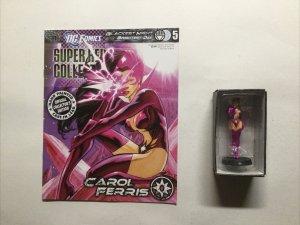 Carol Ferris 5 Super Hero Collection Lead Figure and Magazine Dc Eaglemoss