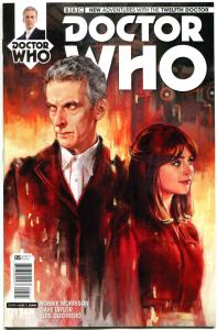 DOCTOR WHO #5 A, NM, 12th, Tardis, 2014, Titan, 1st, more DW in store, Sci-fi
