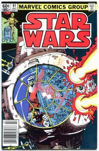 STAR WARS #61, FN, Luke Skywalker, Darth Vader, 1977, more SW in store