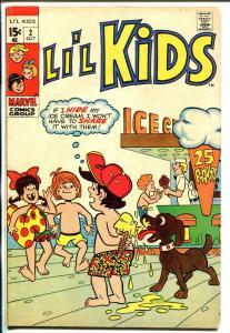 Li'L Kids #2 1970-Marvel-ice cream cone cover-classic issue-VG/FN