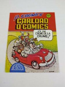 Robert Crumb's Carload O' Comics #1 FN+ snoid - mr. natural - 1976 underground