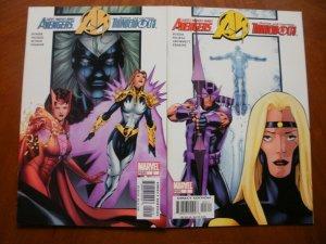2 Marvel AVENGERS / THUNDERBOLTS #2 3 Comic (2004) Busiek Nicieza Kitson Erskine