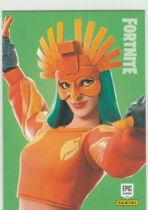 Fortnite Sunbird 198 Rare Outfit Panini 2019 trading card series 1