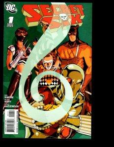 12 Secret Six DC Comics #1 2 3 4 5 6 7 8 9 10 11 12 Batman Bane Deadshot GK33