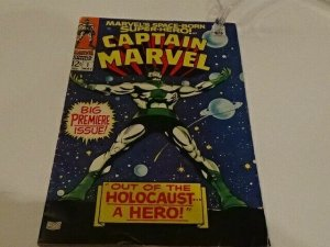 Captain Marvel 1 ~ Key Issue ~ 1968