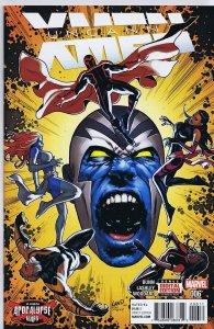 Uncanny X-Men Vol 4 #6 2016 Marvel Comics Greg Land Cover Apocalypse Homage