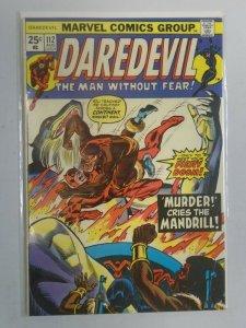 Daredevil #112 8.0 VF (1974 1st Series)
