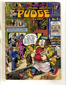 Pudge Girl Blimp # 2 FN/VF Star Reach Comic Book Underground Nixon Cover FM4