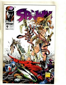 Spawn # 9 NM 1st Print Image Comic Book 1st Angela Appearance McFarlane Key HJ9