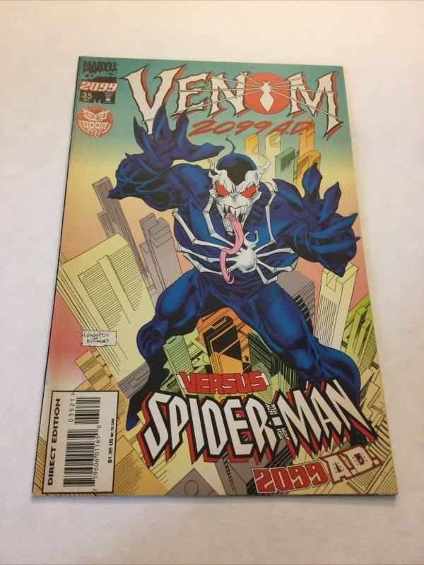 Spider-man 2099 35 Variant Vf Very Fine 8.0 Marvel Comics
