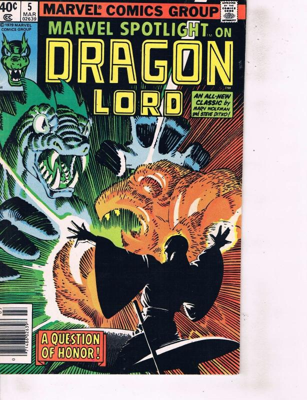 Lot Of 2 Marvel Comic Book Dragon Lord #5 and Tigra the Feline Fury #42 ON1