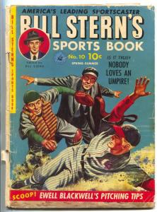 Bill Stern's Sports Book #10 1951- Ty Cobb- Indy 500- Ewell Blackwell G