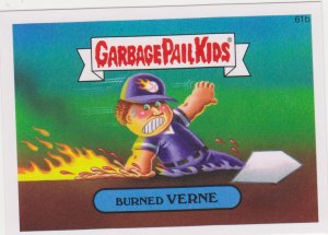 2015 Garbage Pail Kids  #61b Burned Verne