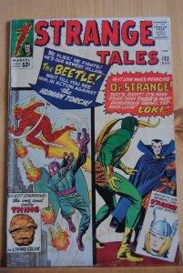 Strange Tales #123, Dr. Strange, Loki.