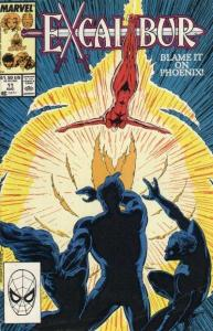 Excalibur (1988 series) #11, NM- (Stock photo)