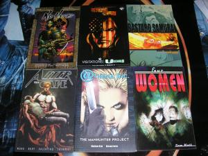 Top Cow/Image Graphic Novels TPB Lot, 6 diff - The Cape Bastard Samurai